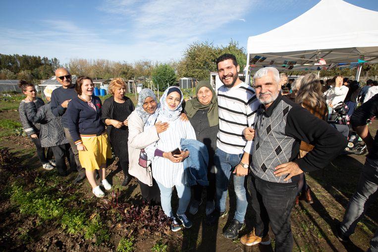Het project 'Samentuinen' brengt mensen met verschillende achtergronden bij elkaar.