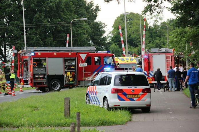 Ongeval op de N348 bij Raalte