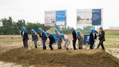 Eerste spade in grond voor Blue Gate Antwerpen