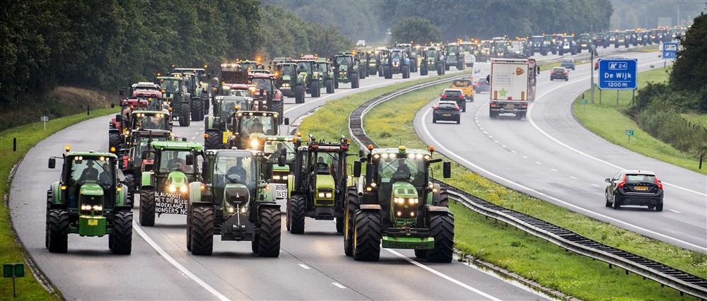 Boze boeren trokken vorige week op naar Den Haag.