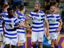 De Graafschap ontsnapt aan puntenverlies tegen tiental Jong Ajax