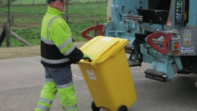 Ook gele papiercontainer van 40 liter kan aangevraagd worden