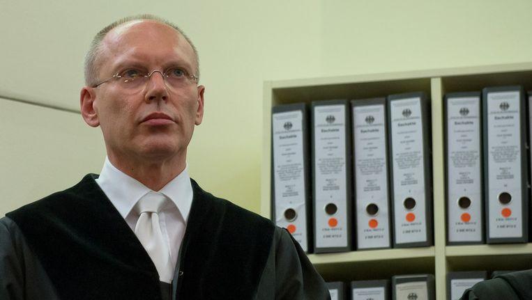 Voorzittend rechter Manfred Götzl Beeld getty