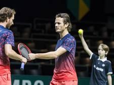 Koolhof en Middelkoop stunten met winst in kwartfinale Rotterdam
