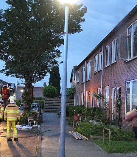 Brandweer rukt uit voor woningbrand in Steenwijk
