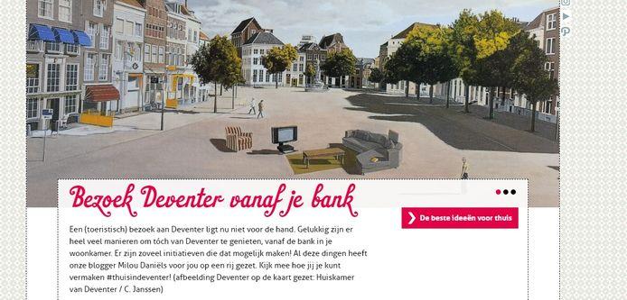 In Deventer is door de coronacrisis nog wel wat te doen. Verschillende instellingen bieden activiteiten aan die thuis online zijn te volgen. Bijvoorbeeld het Burgerweeshuis, dat vanavond een stream uitzendt van dj's die (zonder publiek) optreden in het poppodium.