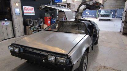 Great Scott! DeLorean uit 1981 onder de hamer in Kortessem. Ook 34 andere Hollywoodjuweeltjes kunnen van u zijn