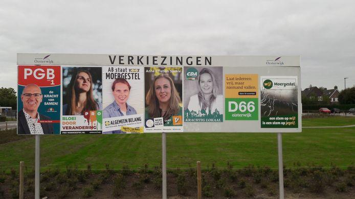 Zeven partijen doen op 18 november mee aan de gemeenteraadsverkiezingen in de met het dorp Haaren uitgebreide gemeente