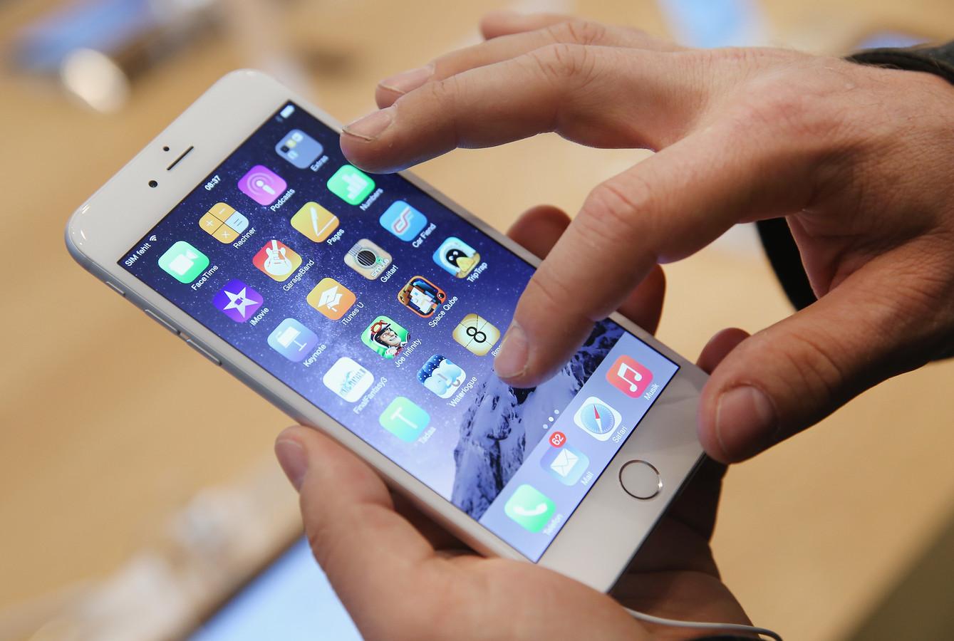 De verkoop van Apple's iPhone heeft bepaald niet te lijden onder de invoering van de BKR-registratie voor duurdere smartphones