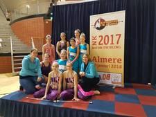 Majorettes Apollonia op podium NK