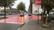 Auto's mogen opnieuw door Walstraat, rood vlak op Frits De Wolfkaai verdwijnt