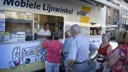 Inbrekers halen tijdelijke Lijnwinkel bij station overhoop