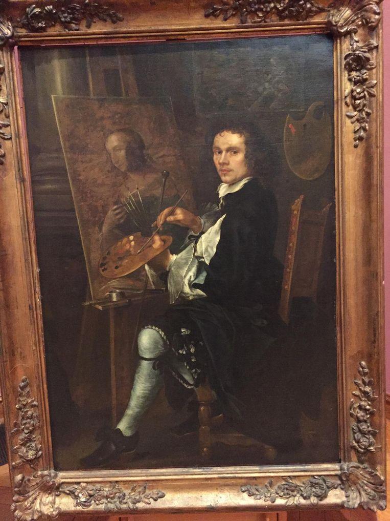 Dit zelfportret uit de 17de eeuw is van de Zuid-Nederlandse school.