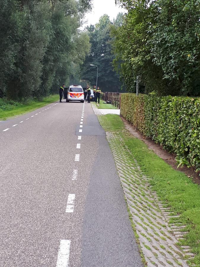 De arrestatie aan de Voorsterweg in Empe.