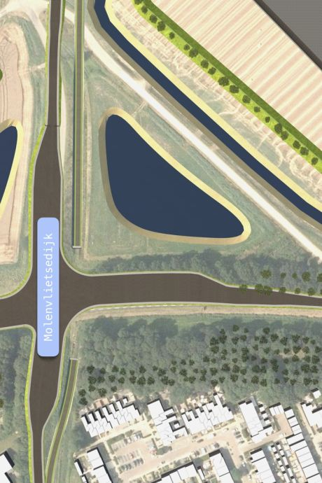 Niet meer in de file door Tholen dankzij nieuw kruispunt op Nieuwe Postweg