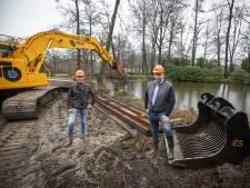 Landgoed Singraven in Denekamp wekt straks eigen elektriciteit op uit de Dinkel