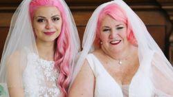 """Julia (24) trouwt met 37 jaar oudere Eileen: """"Mensen denken vaak dat ze mijn oma is"""""""