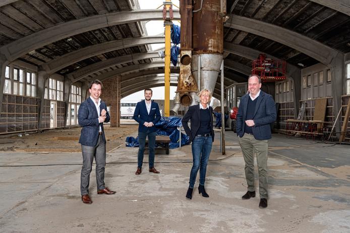 De familie Van der Burg maakt van de oude tinfabriek De Tinfabriek.