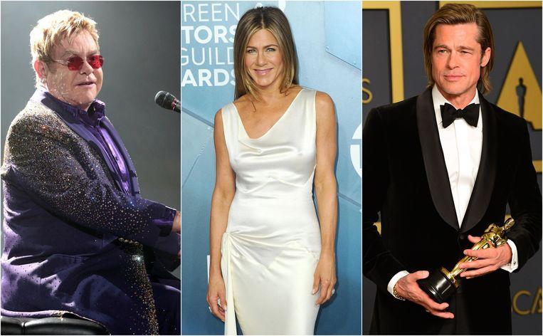 Elton John, Jennifer Aniston en Brad Pitt: eigenlijk dragen ze allemaal andere namen.