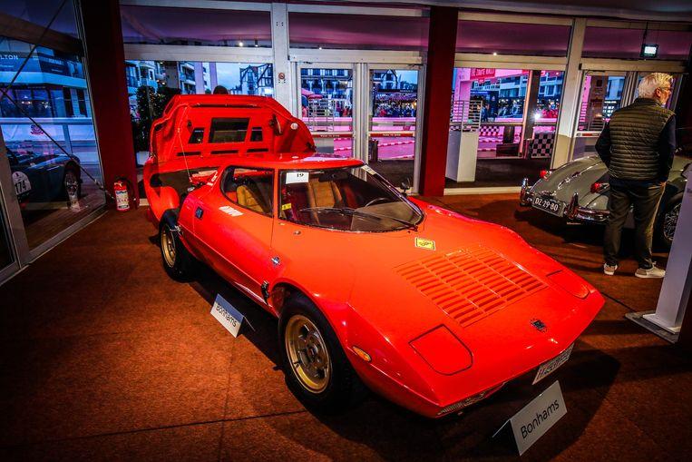 Bonhams veiling Zoute Grand Prix: de Lancia Stratos Stradale hing onder de hamer voor 402.500 euro
