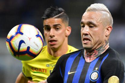 """VIDEO. Nainggolan is nu een blondje en is dicht bij plaats in top vier: """"Inter doet het beter dan vorig jaar"""""""