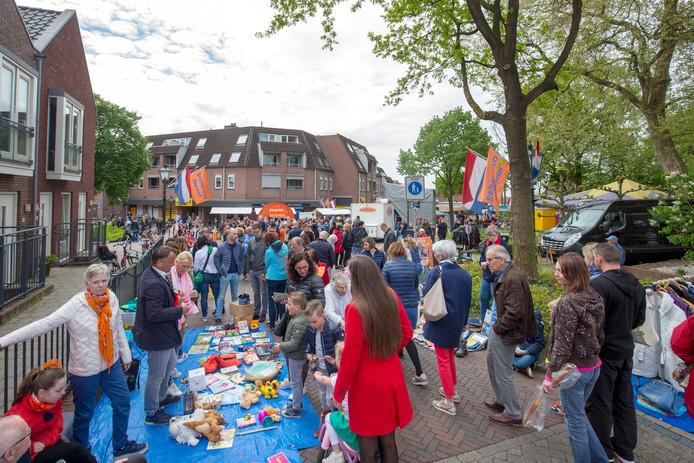 Koningsdag in Rhenen dit jaar.
