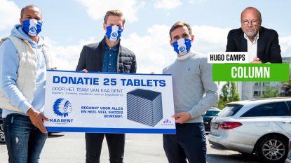 """Onze columnist Hugo Camps vindt dat sociale betrokkenheid van voetballers wordt onderschat: """"Ze kennen ook de kruipruimtes van een rijtjeshuis"""""""