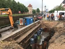 Kade aan Thorbeckegracht Zwolle vernieuwd
