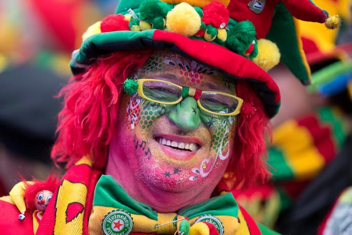Carnavalsvierder op het Vrijthof in Maastricht