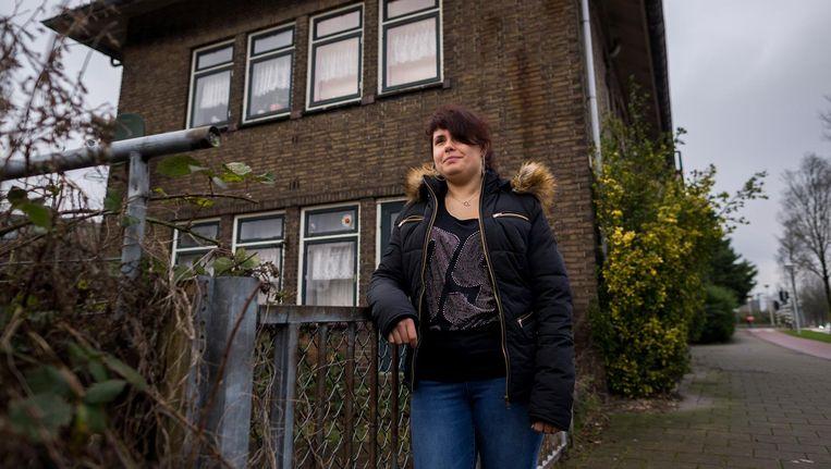 De woning waar Nikki Franzen opgroeide gaat tegen de vlakte Beeld Rink Hof
