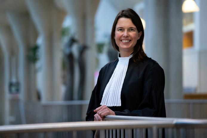 Raadsheer Jeannette Pols van gerechtshof 's-Hertogenbosch.