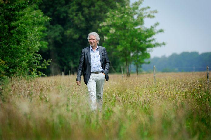 Jules Iding in de Maashorst.