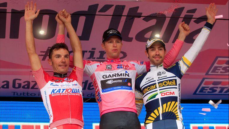Joaquim Rodriguez verloor twee jaar geleden in extremis zijn roze trui aan Ryder Hesjedal.