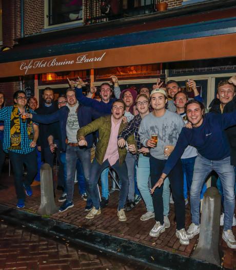 Een Amsterdamse NAC-supporter