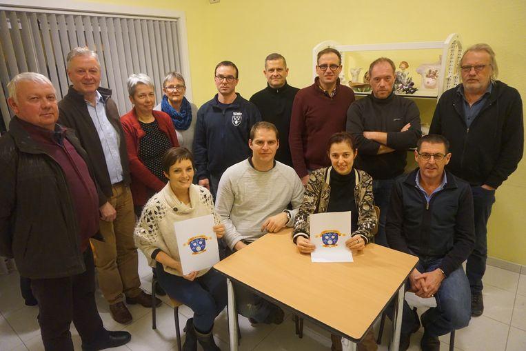De organisatoren van 900 jaar Bovekerke krijgen steun van het gemeentebestuur.