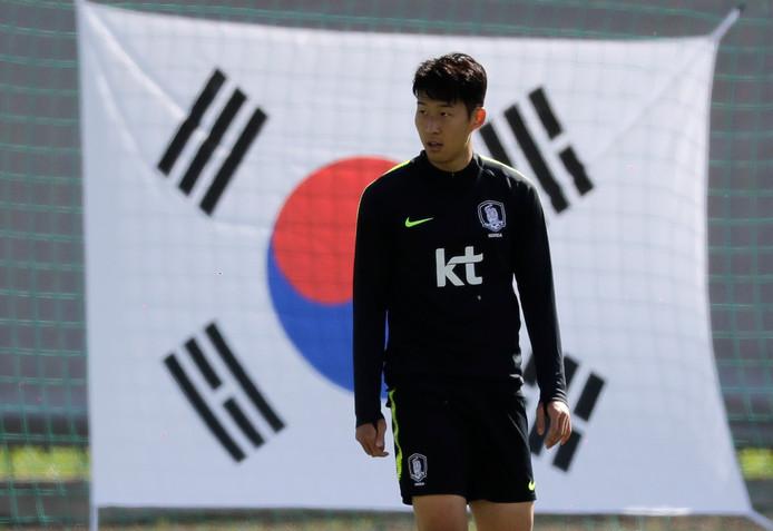 Son Heung-min, de grote man bij Zuid-Korea.