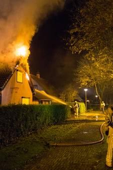 Nachtelijke brand verwoest woning in Heerde