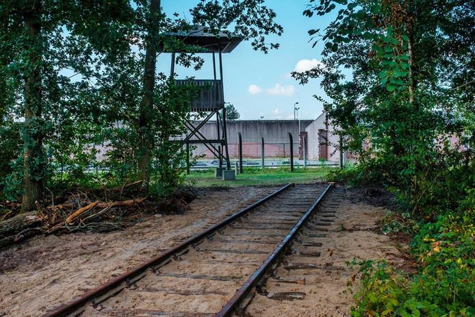 Reconstructie spoorlijn Kamp Vught.