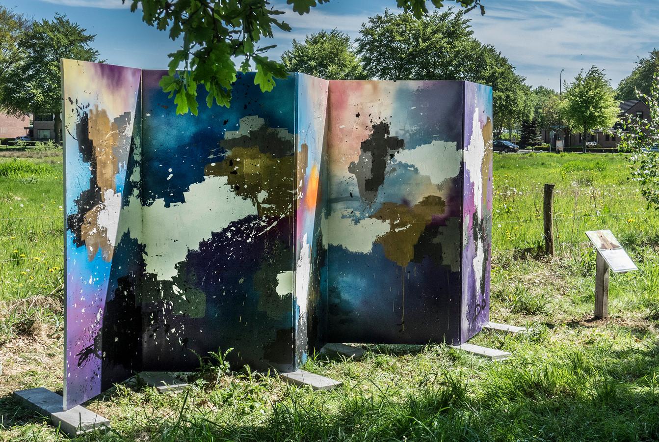 De Kunstroute in 2018: Dit was het kunstwerk ZigZag van Bo Pennings.