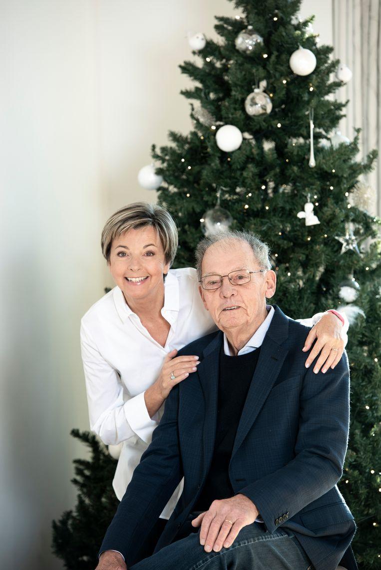 Ingeborg viert kerst dit jaar met haar vader.