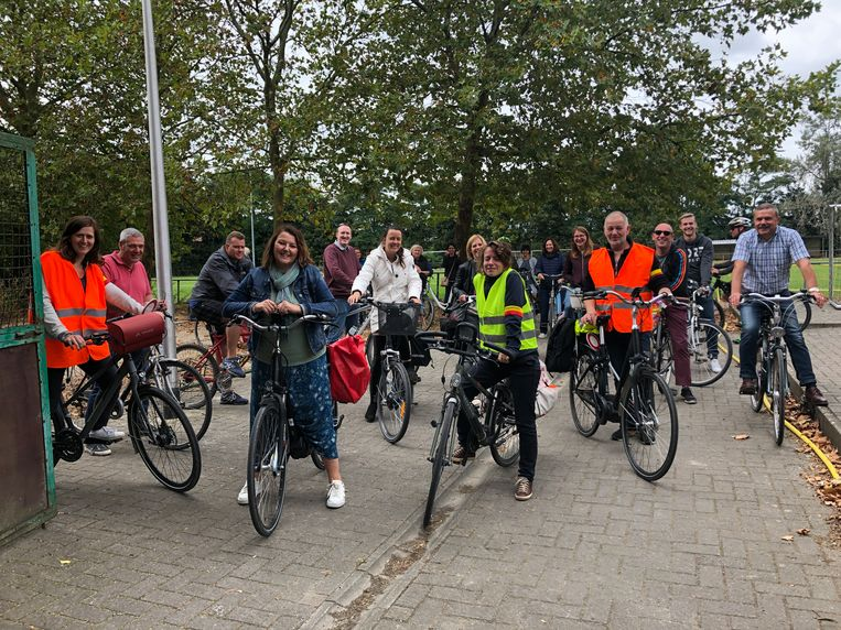 Het personeel koos tijdens de Week van de Mobiliteit wat vaker voor de fiets.