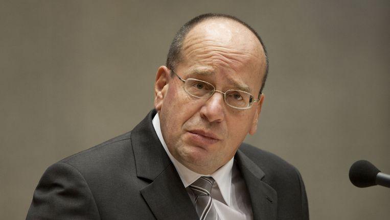 Staatssecretaris Fred Teeven relativeerde het aandaal van de sharia in het Nederlandse rechtssysteem. Beeld ANP