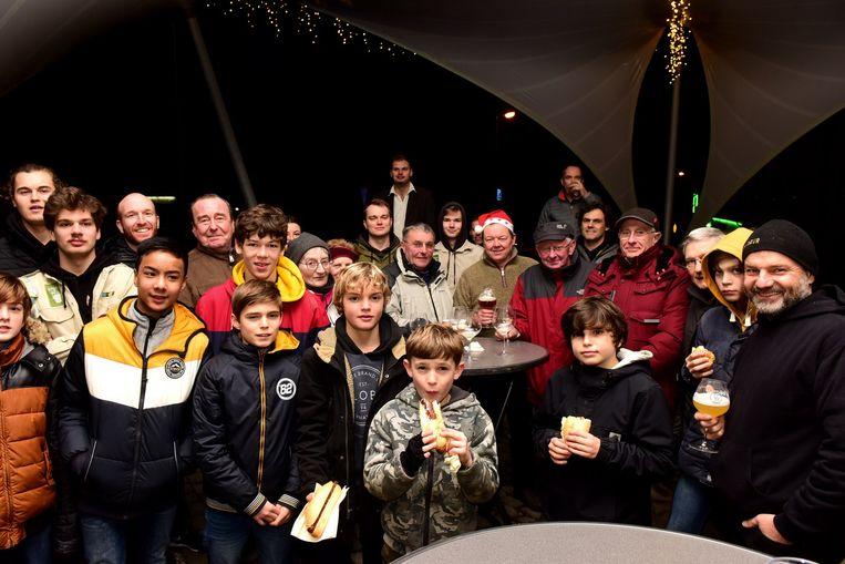 Een feestje bij de scouts in Gooik