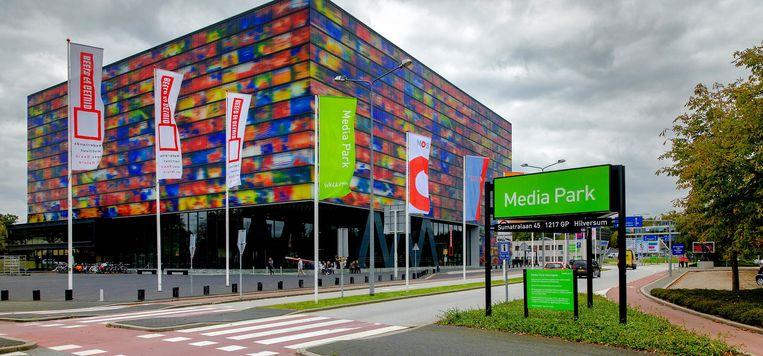 Het Media Park in Hilversum. Beeld anp