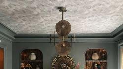 Trend: behang eens je plafond