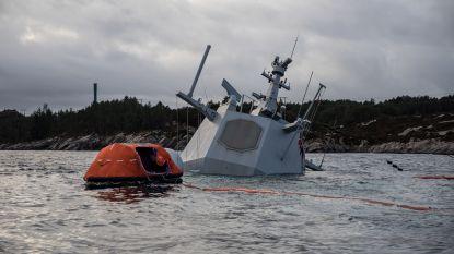 """Marineschip dacht dat vasteland in zicht was: botsing tussen Noors fregat en olietanker """"in grote mate te wijten aan menselijke factoren"""""""