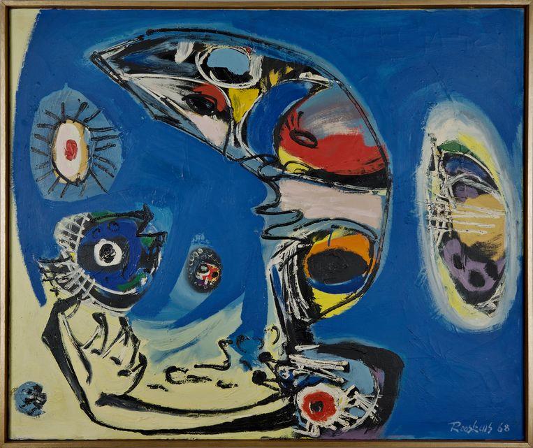 Anton Rooskens, 'De begroeting', 1968. Beeld Particuliere collectie