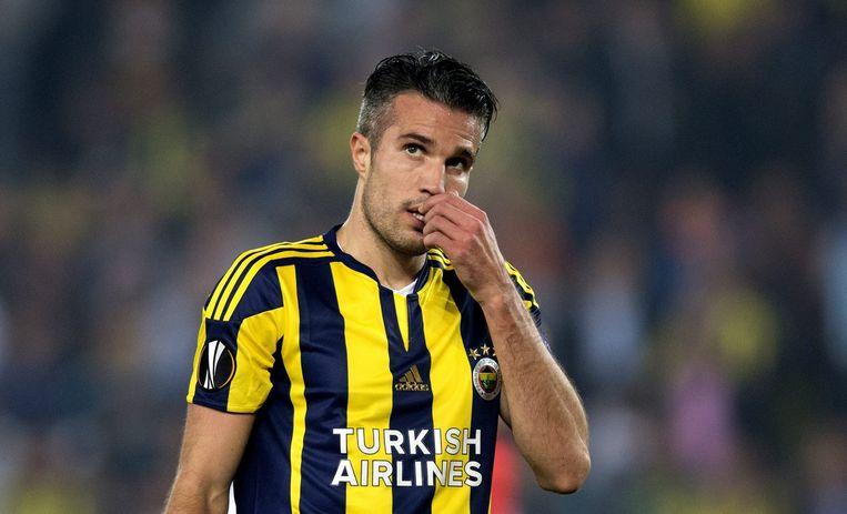 Robin van Persie scoorde twee keer voor Fenerbahçe. Beeld null