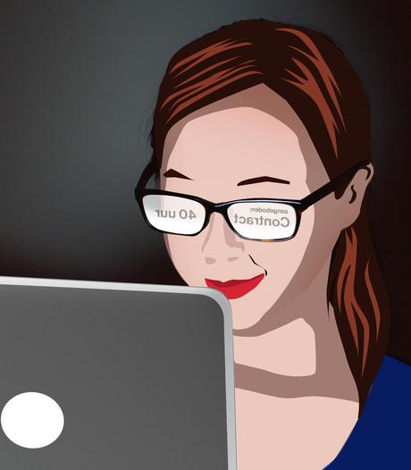 Jonge vrouw maakt valse start op arbeidsmarkt