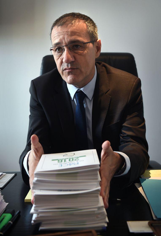 Jean-Guy Talamoni Beeld Marcel van den Bergh